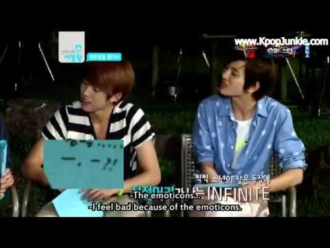 INFINITE Funny Rolling Paper Messages Ranking King Ep13 (1-2)