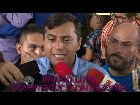 Wilson Lima fala sobre a obra da AM -010 Itacoatiara até Manaus