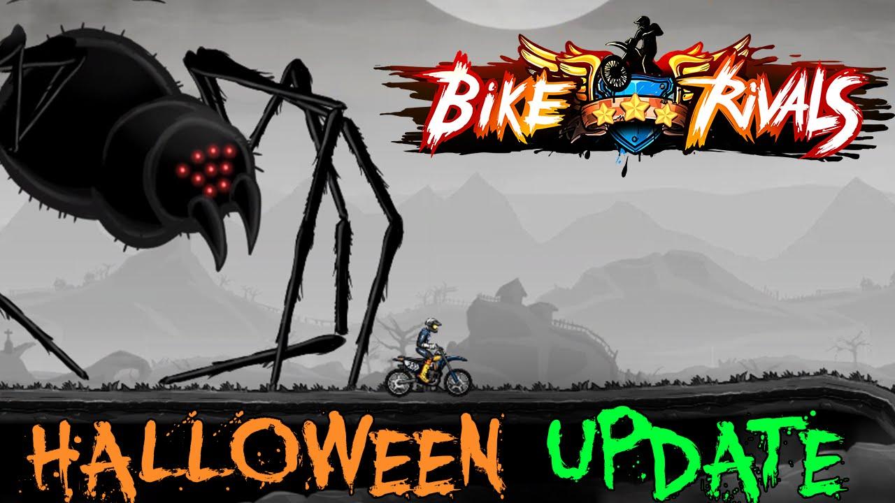 bike rivals - halloween update trailer - jocuri video bike rivals