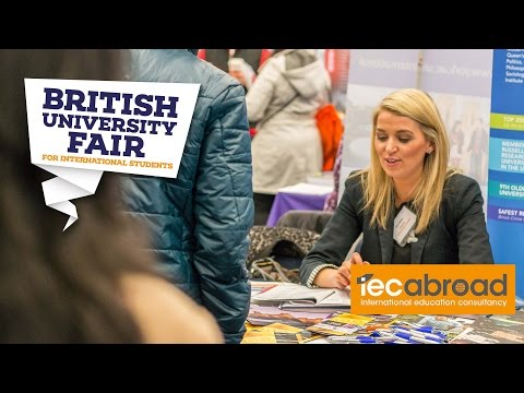 "The British University Fair April 2016 - ""An Important Event for International Students"""