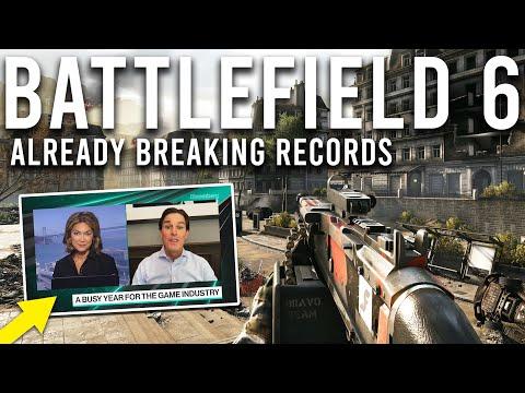 Battlefield 6 breaking records and hiring COD Devs...