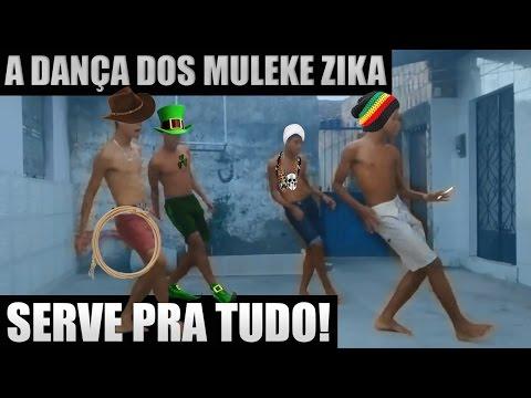 A dança dos Muleke Zika combina com qualquer música