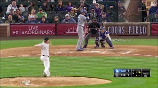 Dodgers vs Rockies Highlights | 4/6/19
