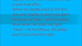 Fever Michael buble Lyrics