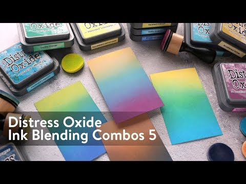 Distress Oxide Ink Blending Color Combinations 5