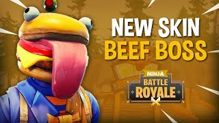 *NEW* Beef Boss Skin!! - Fortnite Battle Royale Gameplay - Ninja