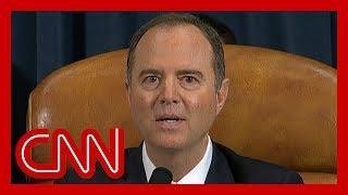 Hear Adam Schiff's full opening statement | Day three impeachment hearing