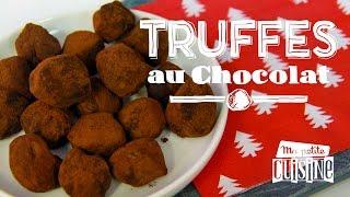 Recettes de cuisine : Ma petite cuisine La recette des truffes au chocolat en vidéo