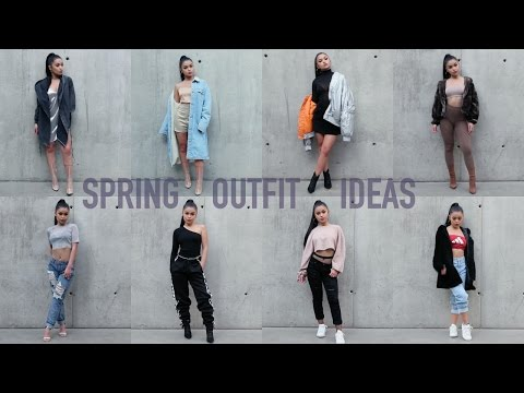 8 OUTFIT IDEAS TO SLAY SPRING ♡ | Koleen Diaz