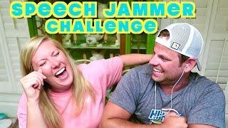 SPEECH JAMMER CHALLENGE! | Cullen & Katie
