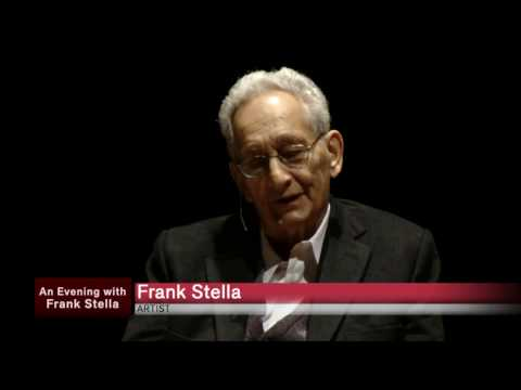 An Evening with Frank Stella