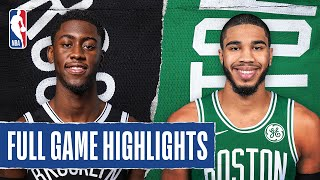NETS at CELTICS | FULL GAME HIGHLIGHTS | August 5, 2020