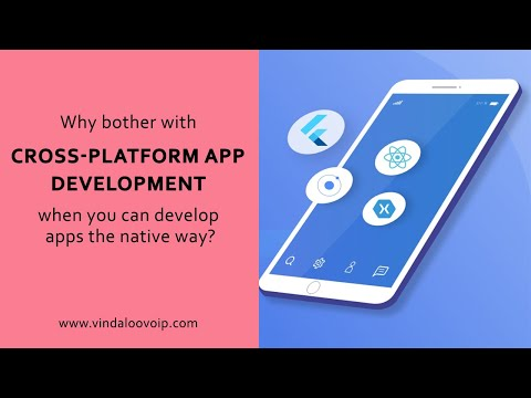 Why bother with Cross-Platform App Development when you can develop apps the native way?