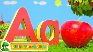 ABC Phonics Numbers Shapes & Colors | Nursery Rhymes Songs for Kindergarten Kids by Little Treehouse - YouTube