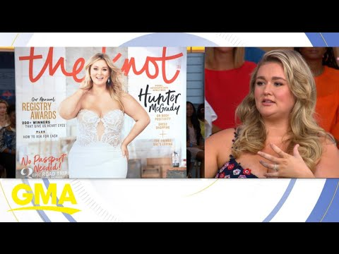 Model Hunter McGrady to grace the cover of 'The Knot' magazine #GMA