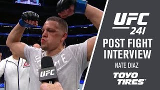"""UFC 241: Nate Diaz - """"I Could See Everything He Was Throwing"""""""
