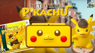 Detective Pikachu | 3DS Release Date, 2DS XL Special Edition, & HUGE amiibo