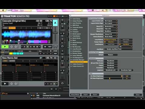 DJ Divine Justice Shows how to remap the Kontrol S4 to get the most out of Flux Mode in Traktor