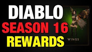 Diablo 3 Season 16 Wings Haedrigs Conquests Portrait Patch 2.6.4