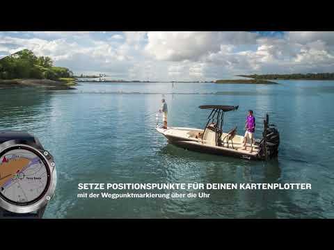 Quatix 6 - Für dein Abenteuer auf dem Wasser und an Land