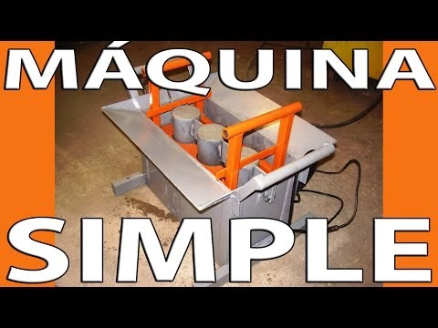 Casero m quina simple para la fabricaci n de bloques de for Como hacer una maquina recreativa