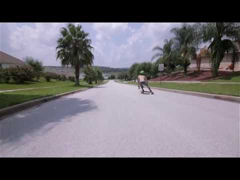 Video LUSH Longboard STEEZESTOKER Red Blue