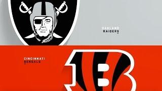 How the Oakland Raiders will Beat the Cincinnati Bengals!