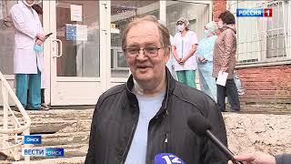 В Омске выписали первого тяжёлого пациента, переболевшего коронавирусом