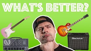 God Guitar + Bad Amp vs. Bad Guitar + Good Amp