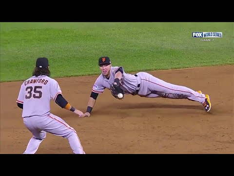 "Brandon Crawford and Joe Panik 2014 HD ""The Crawnik"""