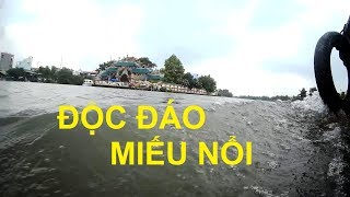 Độc đáo Miếu Nổi giữa dòng kênh Vàm Thuật ở Sài Gòn  I PHÙ CHÂU MIẾU