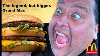 "McDonald's® GRAND ""MAC DADDY"" Review!"