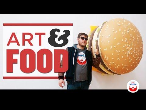 Arte e Food EXPO 2015 vista da BOB