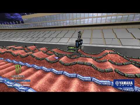 Yamaha Animated Track Map - Round 14 - Atlanta 2