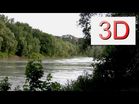3D Video: River & Forest Relaxation #2