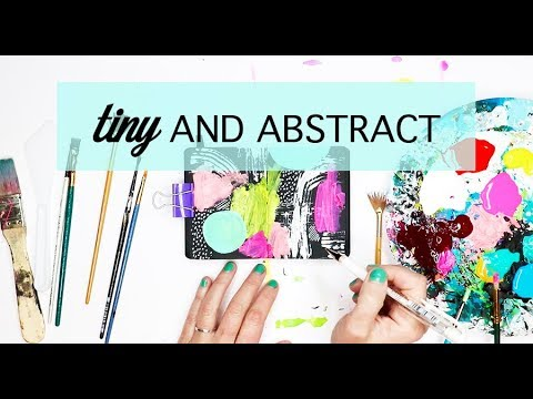 tiny and abstract