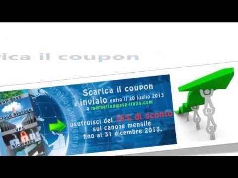 Offerta Cloud ASP Italia: coupon 15% sconto