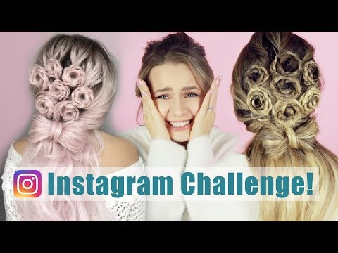 I Turned My Hair Into a Viral Flower Bouquet Hairstyle!! – KayleyMelissa