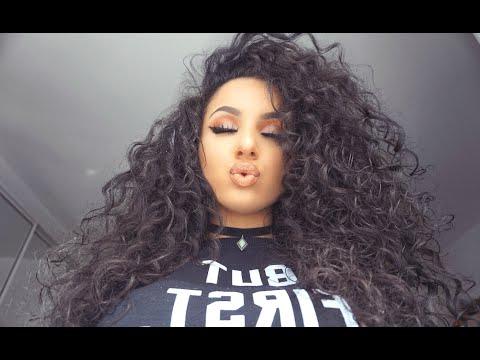Big Curly Hair Tutorial