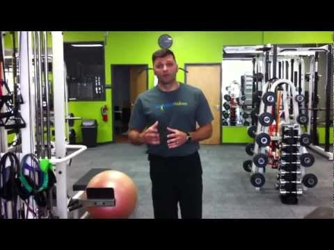 Feed-Forward Core Strength Exercise Example