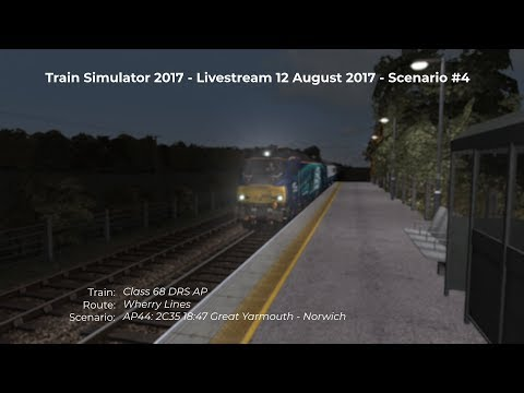 AP44 2C35 1847 Great Yarmouth  Norwich Livestream 120817