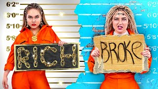 Rich Jail vs Broke Jail / Stupid Life Hacks in Prison