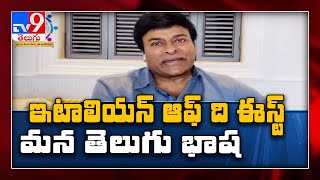 Chiranjeevi comments on TANA World Telugu cultural fest 20..