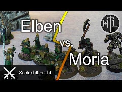 Battlereport - Elben vs. Moria (Mittelerde Tabletop / Hobbit / Herr der Ringe / HdR)