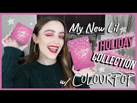 TWINKLING LIGHTS LIMITED EDITION COLLECTION   Lip Swatches + Reveal
