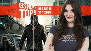"GS News Top 5 – Titanfall ""game changing""; What's up with Watch Dogs?"