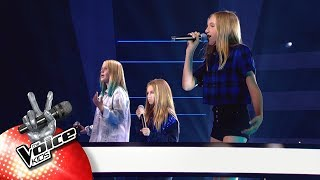 Lindsy, Josephine & Louise - 'Dream On'   The Battles   The Voice Kids   VTM