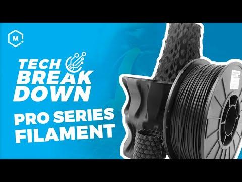 MatterHackers PRO Series 3D Printing Filament // High Quality 3D Printing Materials