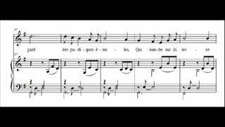 Gabriel Fauré, Chanson - Mai (V. Hugo) -  op. 1 n. 2