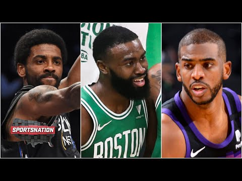 Kyrie Irving dunks, Jaylen Brown scores 32 and Chris Paul is clutch in overtime | SportsNation